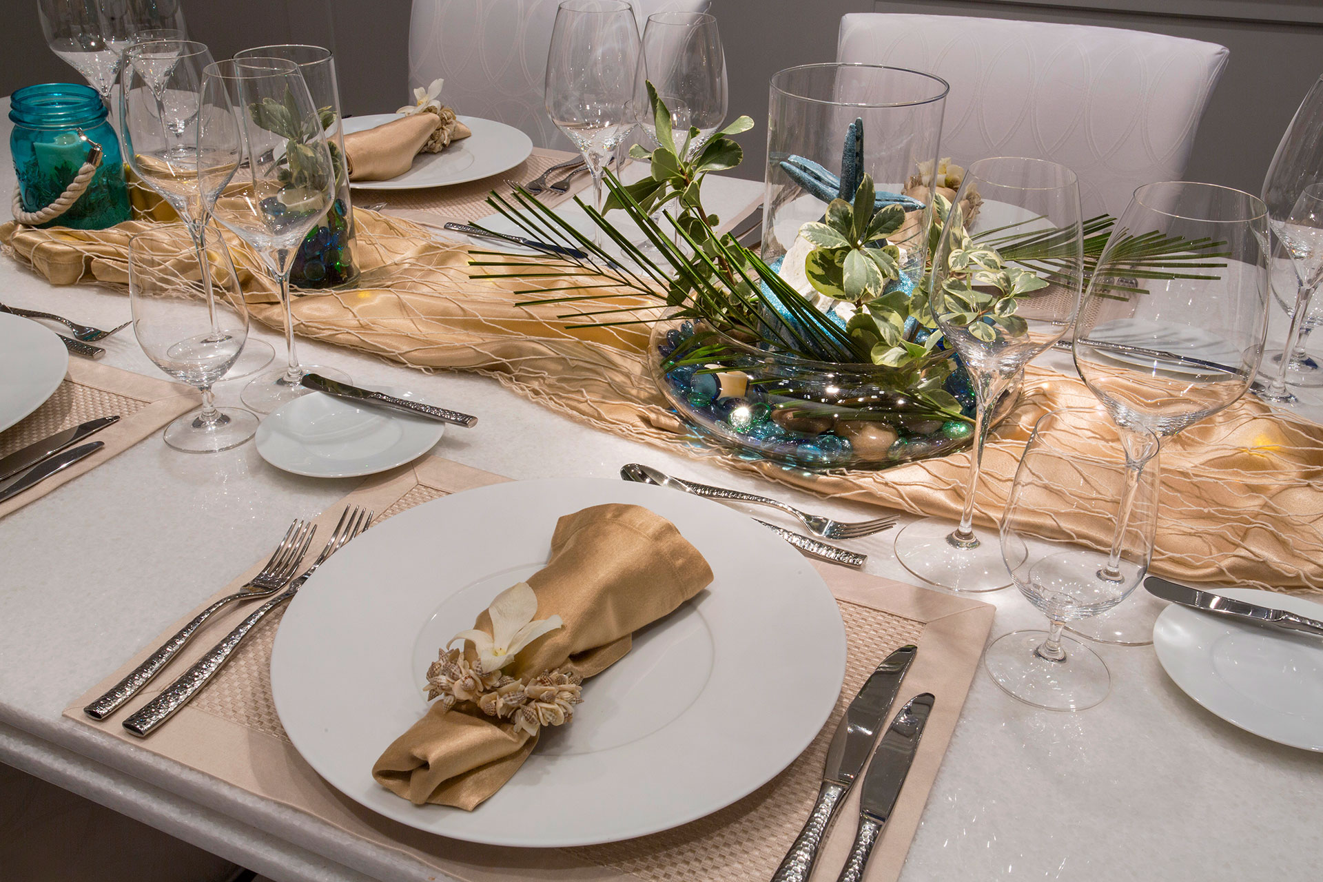 Project Description & Formal Table Setting u2013 Marcato Yacht